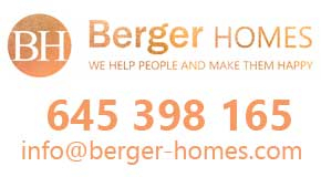 BERGER HOMES logo