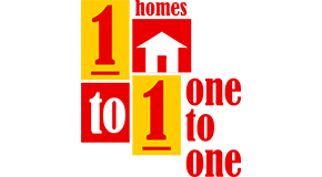 1 TO 1 HOMES logo