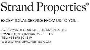 Strand Properties logo