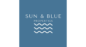 SUN & BLUE PROPERTIES logo