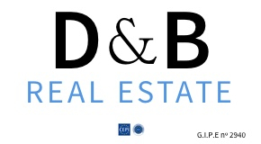 D & B REAL ESTATE logo