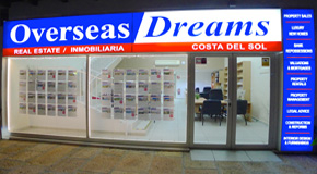 OVERSEAS PROPERTY DREAMS logo