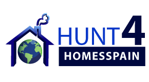 HUNT 4 HOMES SPAIN logo