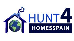 HUNT 4 HOMES SPAIN logo