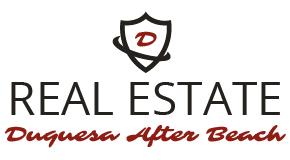 DUQUESA AFTER BEACH ESTATE AGENCY logo