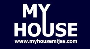 MY HOUSE MIJAS logo