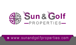 SUN AND GOLF PROPERTIES logo