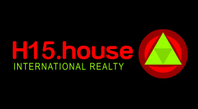 H15 HOUSE INTERNATIONAL REALTY logo
