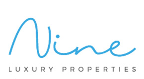 NINE LUXURY PROPERTIES logo