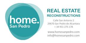 HOME SAN PEDRO logo