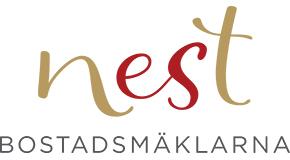 NEST BOSTADSMÄKLARNA logo