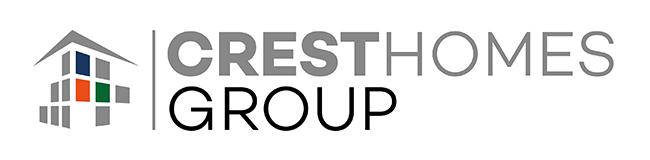 CREST HOMES logo