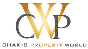 CHAKIB PROPERTY WORLD logo