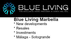 BLUE LIVING MARBELLA logo