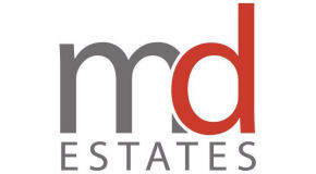 MD INTERNATIONAL ESTATES logo