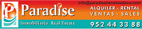 PARADISE REAL ESTATE logo
