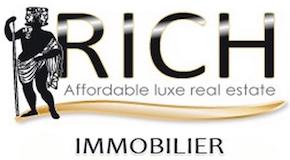 RICH HOMES logo