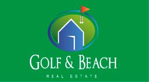 GOLF & BEACH REAL ESTATE logo