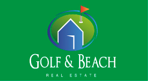 GOLF & BEACH REAL ESTATE logo