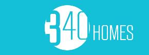 340 HOMES logo