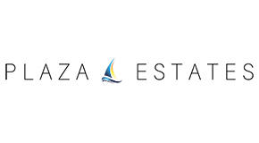 PLAZA ESTATES logo