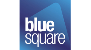 BLUE SQUARE logo