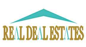REAL DEAL ESTATES logo