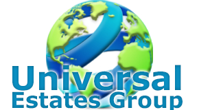 UNIVERSAL ESTATES GROUP logo