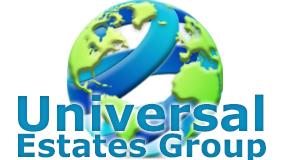 UNIVERSAL ESTATES GROUP logo