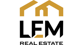 LEM REAL ESTATE logo